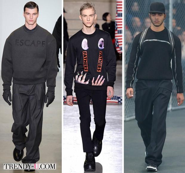 Мужская повседневная одежда осень-зима 2014-2015