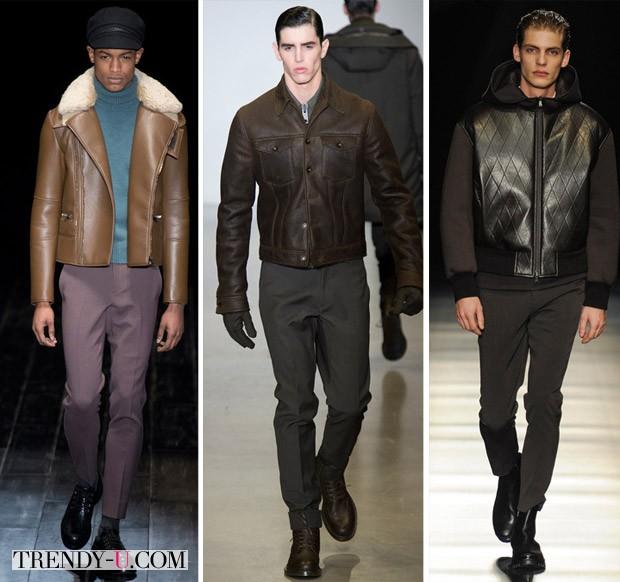 Модные мужские куртки бомберы осень-зима 2014-2015
