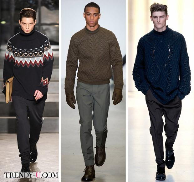Модные мужские свитера для осени и зимы 2014-2015