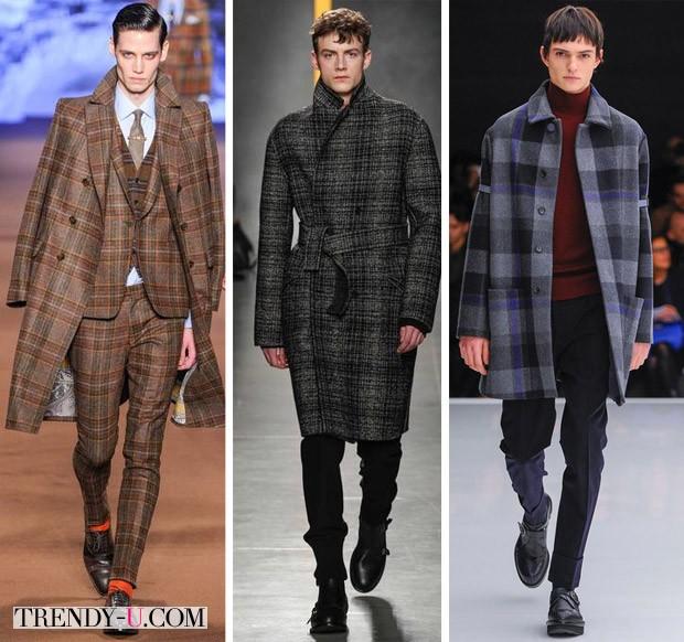 Модная мужская одежда осень-зима 2014-2015: клетка