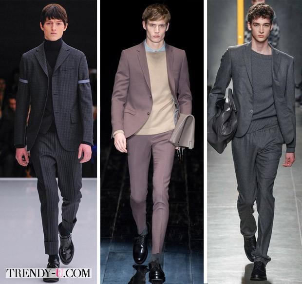 Модные мужские костюмы осень-зима 2014-2015