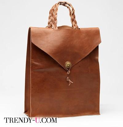 Просто кожаная сумка)