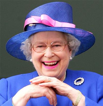 Королева Елизавета в 2015-м году