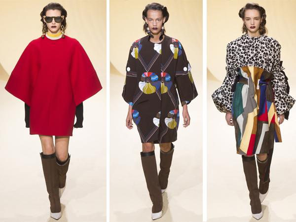 Модные высокие сапоги Marni осень-зима 2016-2017