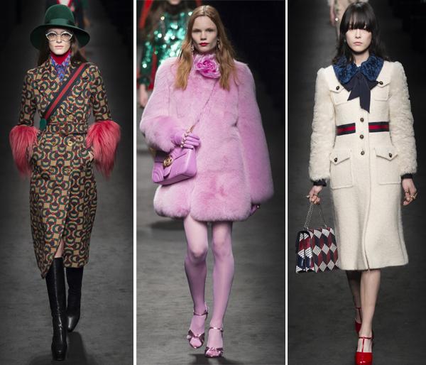Модная верхняя одежда осень-зима 2016-2017 из коллекции Gucci