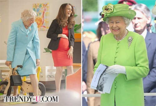 Стиль одежды королевы Елизаветы
