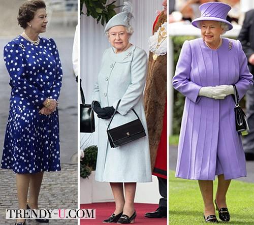 Туфли одного фасона Елизавета носит уже много лет