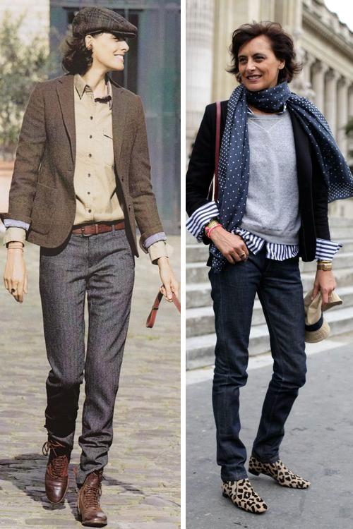 Повседневный стиль француженки в возрасте