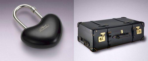 Брелок в виде сердца и чемодан от Agent Provocateur