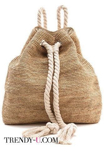 Летняя сумка-рюкзак