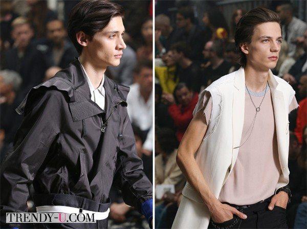 Модная мужская прическа от Lanvin SS 2015: прогулка по городу