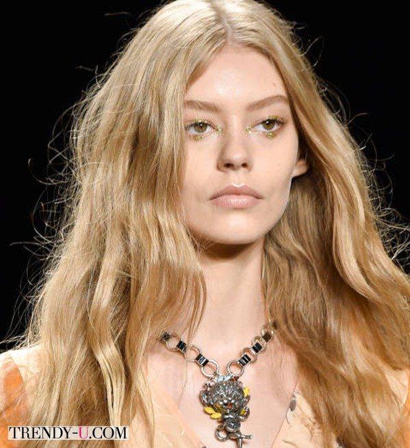 Модные прически весна-лето 2015: просто волосы