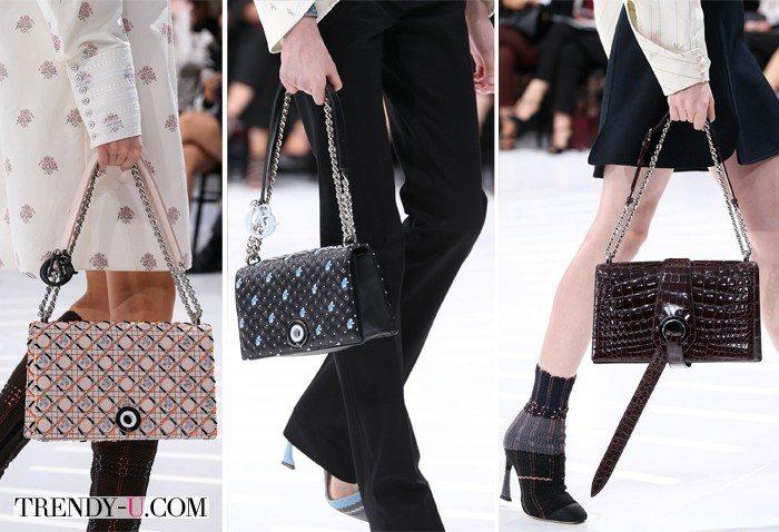 Сумки из коллекции Christian Dior весна-лето 2015