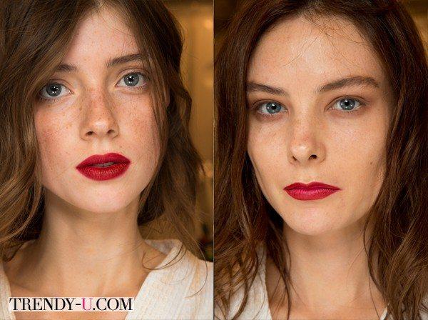 Burberry Prorsum Makeup SS 2015