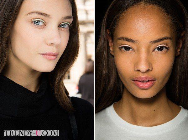 Модный макияж для Christian Dior весна-лето 2015