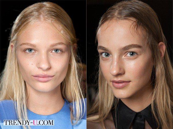 Makeup for Christopher Kane SS 2015