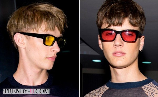 Paul Smith: стрижка и очки