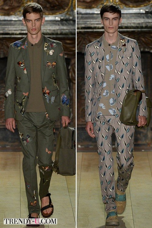 Модный лук от Valentino весна-лето 2015