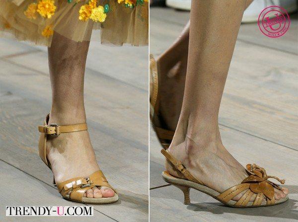 Модная обувь Michael Kors весна-лето 2015