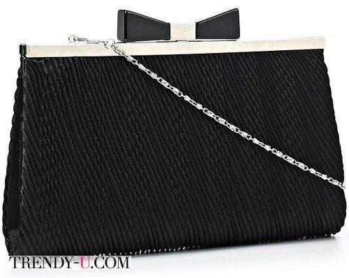Черная элегантная сумочка