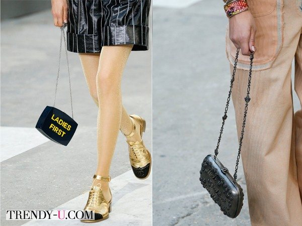 Модные сумочки весна-лето 2015 от Chanel: Ladies First!