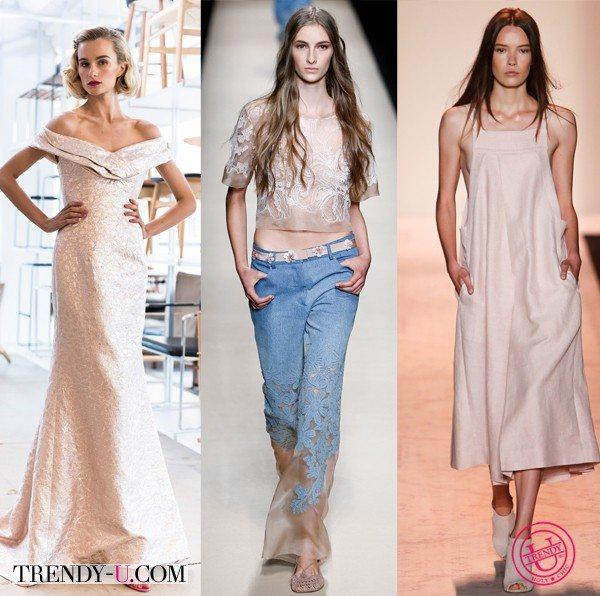 Модные цвета весна-лето 2015: жареный миндаль