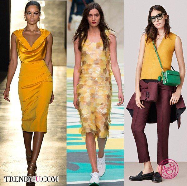 Модная одежда от Cushnie et Ochs, Burberry Prorsum и Bally SS 2015