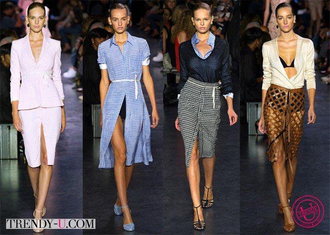 Летний костюм в деловом стиле и другая модная одежда для лета 2015