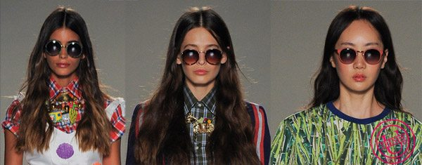 Стильные очки-тишейды Stella Jean весна-лето 2015