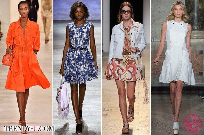 Модные платья весна-лето 2015 от Ralph Lauren, Rebecca Minkoff, Paul & Joe и Ports 1961