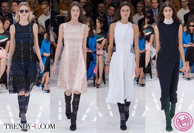 Модные сарафаны Christian Dior SS 2015