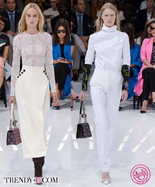 Нарядные комплекты для лета от Christian Dior весна-лето 2015