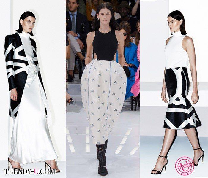 Модная одежда весна-лето 2015 для всех возрастов от Camilla & Mark и Christian Dior (посередине)