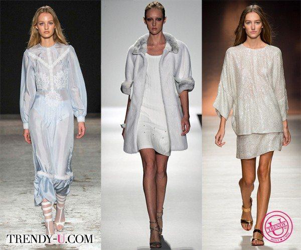 Модные луки весна-лето 2015 цвета Glacier Gray