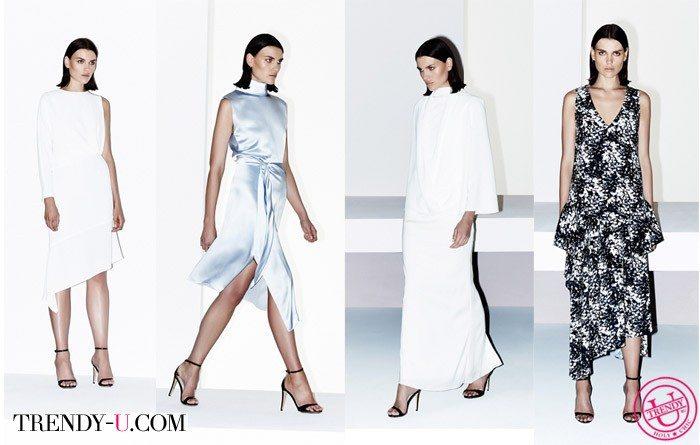 Модные платья для женщин 40-50-60 лет весна-лето 2015