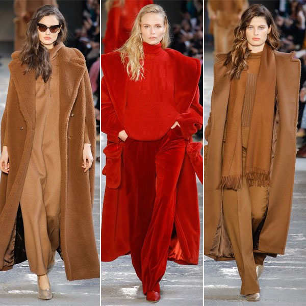 Модные пальто оверсайз из коллекции Max Mara осень-зима 2017-2018