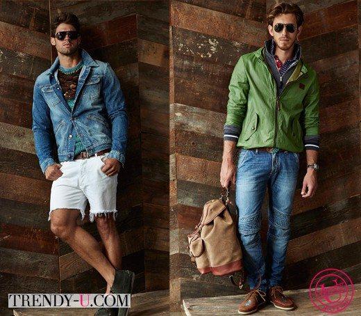 Мужские джинсы и шорты от Michael Bastian весна-лето 2015
