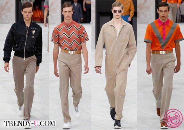 Стильные мужские образы для весны и лета 2015 Louis Vuitton