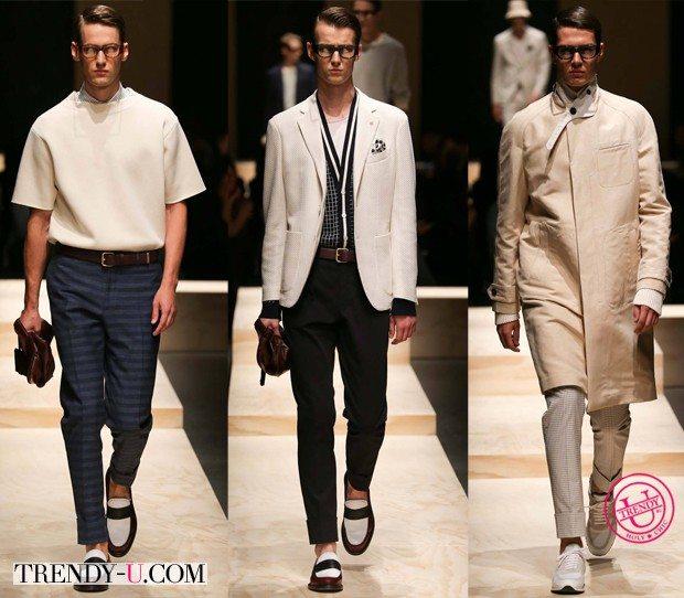 Мужская модная одежда весна-лето 2015 от Canalli