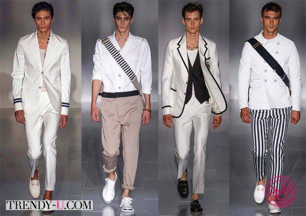 Модная мужская одежда для весны и лета 2015 в морском стиле