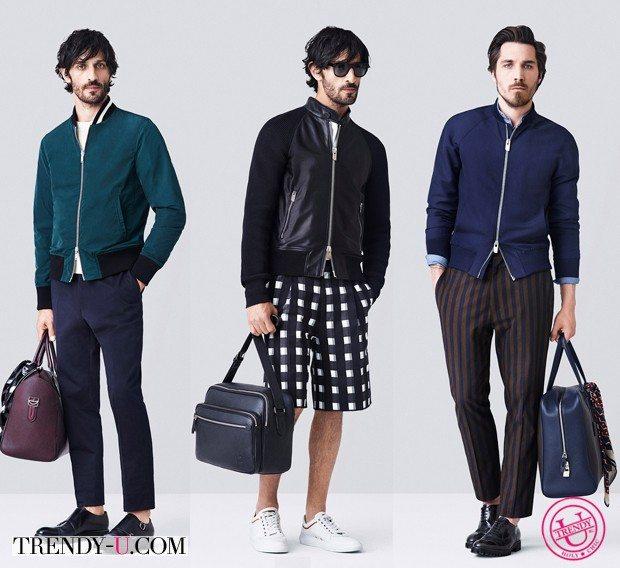 Модная мужская одежда весна-лето 2015 by Bally