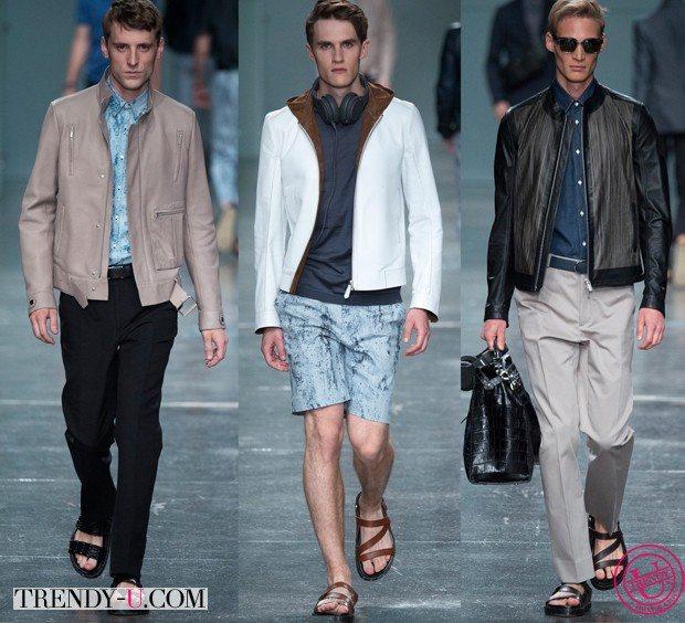 Модные куртки-бомберы весна-лето 2015 от Fendi