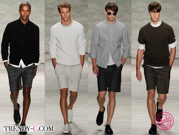 Модные шорты-бермуды весна-лето 2015 Todd Snyder