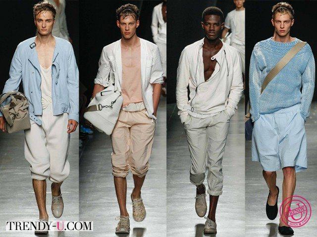 Мужские шорты весна-лето 2015 Bottega Veneta