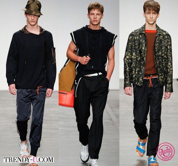 Модная спортивная мужская одежда весна-лето 2015