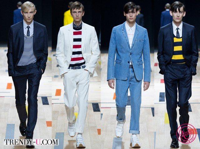 Мужские костюмы весна-лето 2015 Dior Homme