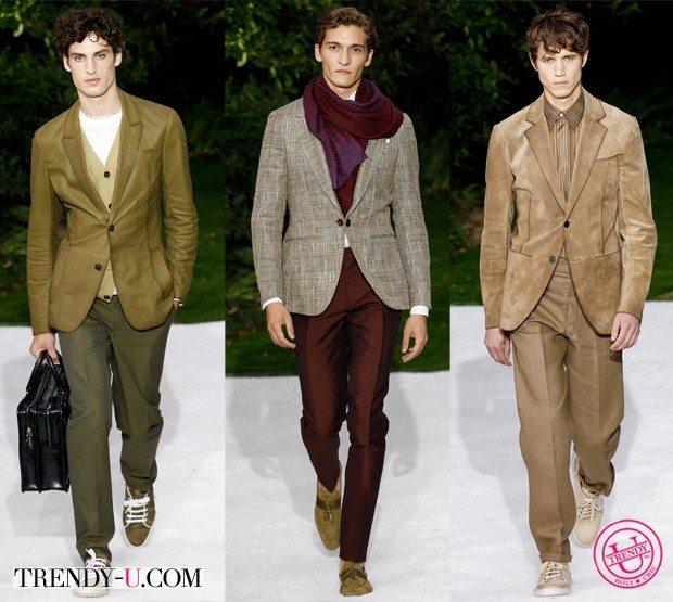Модная мужская одежда для весны и лета 2015