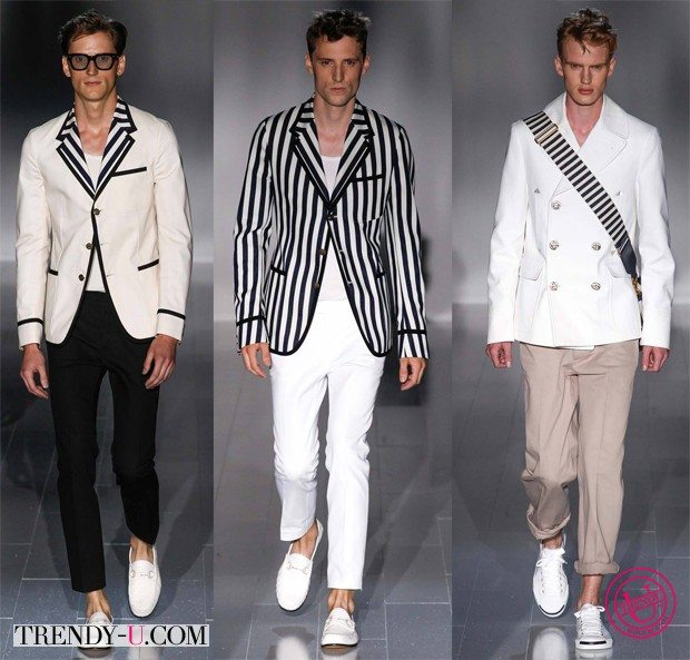 Модные мужские луки весна-лето 2015 Gucci