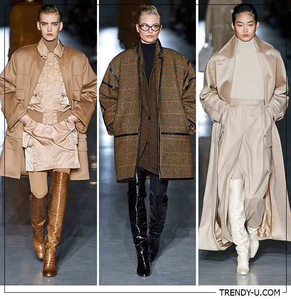 Модные пальто Макс Мара осень-зима 2019-2020