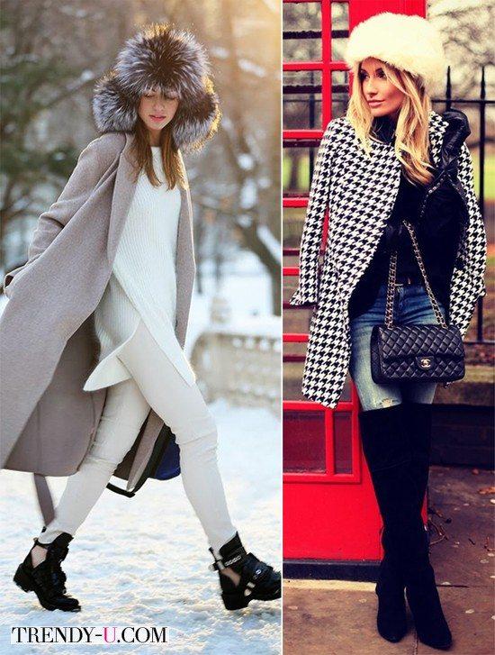 Шапки и пальто